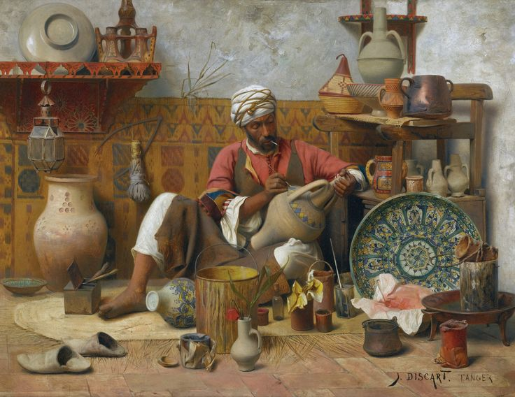 orientalist oil paint - Google'da Ara