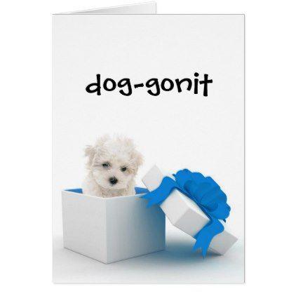 #funny - #Cute Dog Belated Birthday Greeting Card