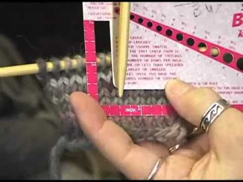 how to hold yarn english style