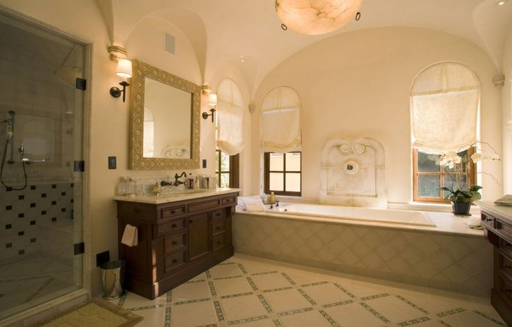 25 best ideas about spanish bathroom on pinterest home for Colonial style bathroom vanities