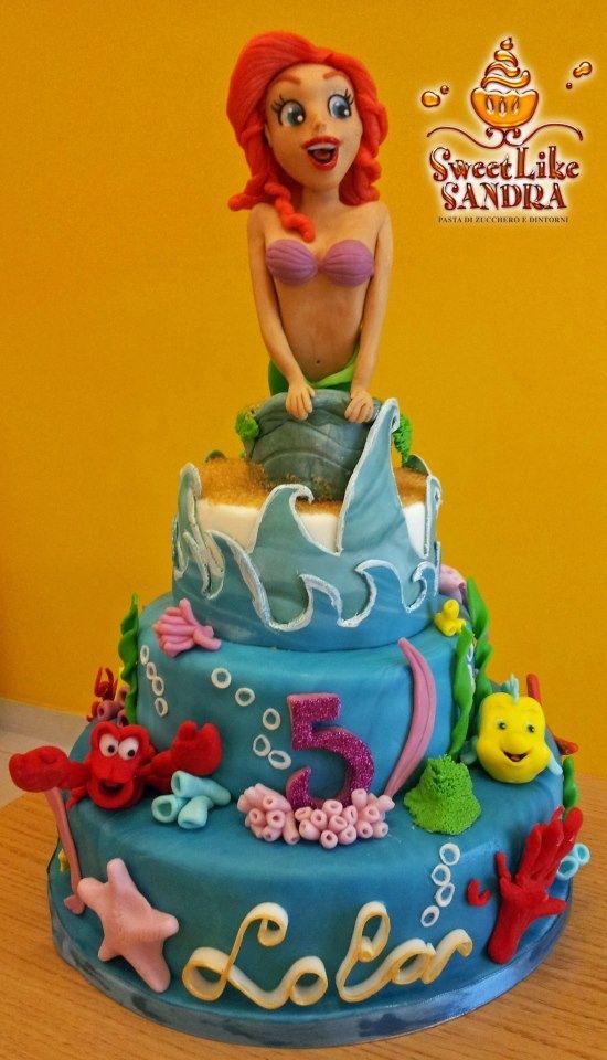 Amazing work on this mermaid cake