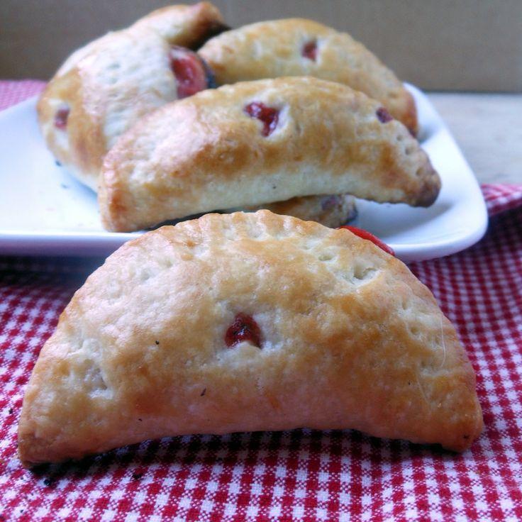 Strawberry Rhubarb Hand Pies - Sugar Dish Me