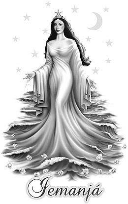 *Rainha das ondas, sereia do mar*