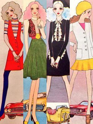この画像のページは「50~80年代!可愛いすぎるレトロファッションの歴史 と画像一挙公開☆」の記事の1枚目の画像です。関連画像や関連まとめも多数掲載しています。