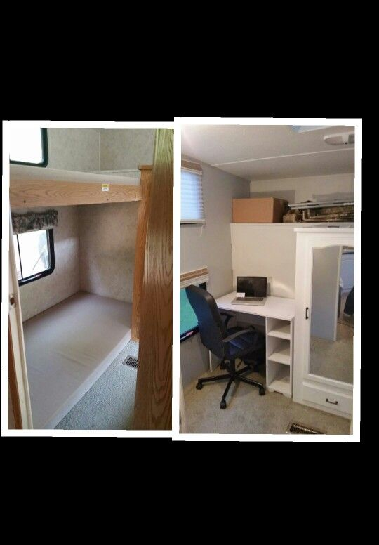 Keystone Cougar 5th Wheel Remodel Converted A Bunkhouse
