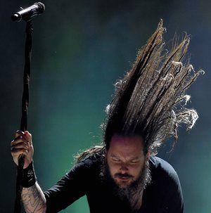Nickelsdorf, AustriaJonathan Davis from American nu metal band Korn, performs at the 2016 Nova Rock Festival