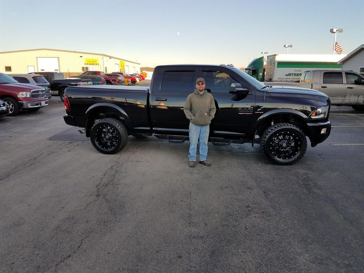 MICHAEL's new 2016 ram 2500! Congratulations and best wishes from Kunes Country Auto Group of Sterling and ROB BRAMER.