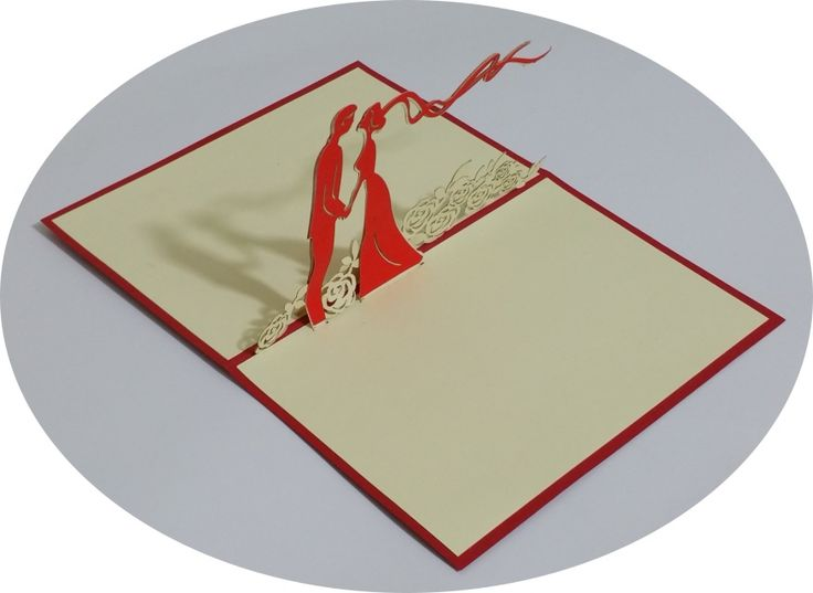 Happy Wedding 1 - 3D Pop Up Cards - Greeting Cards - Ovid Gifts