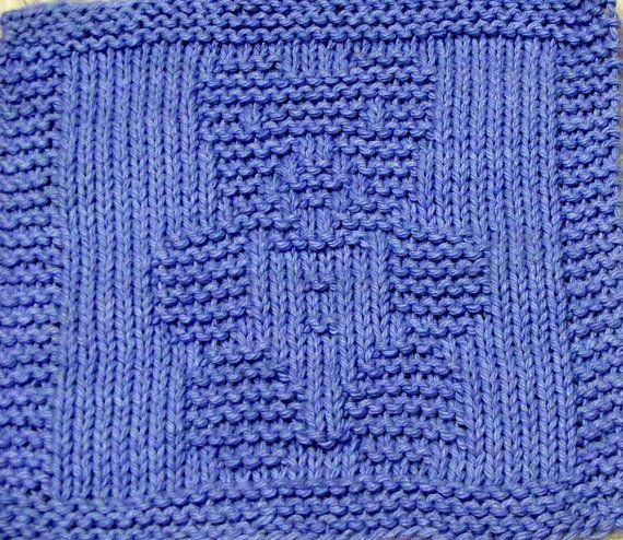 Knitting Cloth Pattern - TOY TEDDY BEAR - Pdf