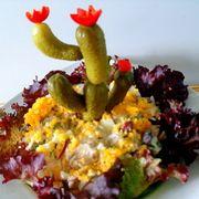 Салат Цветущий кактус(рецепт для дуэли)