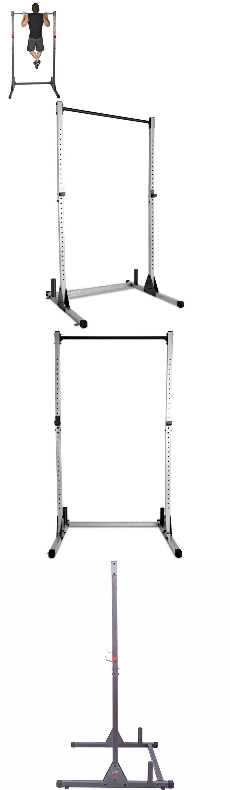 Power Racks and Smith Machines 179815: Free Standing Pull Up Bar Home Gym Equipment Pullup Exercise Squat Rack Stand -> BUY IT NOW ONLY: $133.43 on eBay!