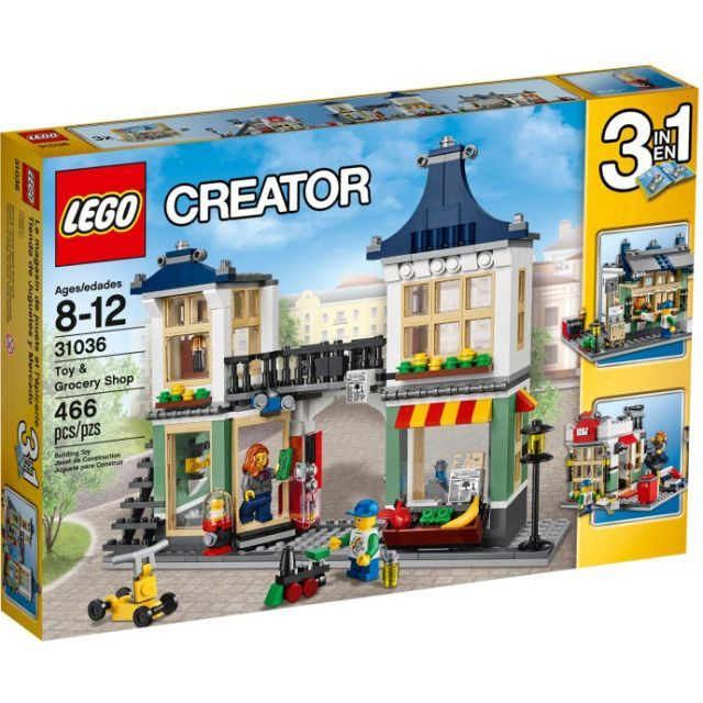 Đồ chơi LEGO 31036 Toy & Grocery Shop – Cửa hàng Đồ chơi và Rau quả