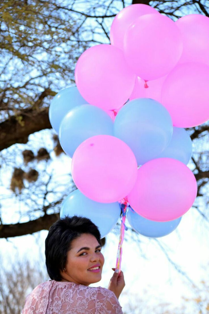 #Balloons Blue and Pink #Celestedqstarr Photo by PhotoJeni'Q