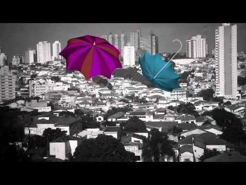 Umbrellas and city