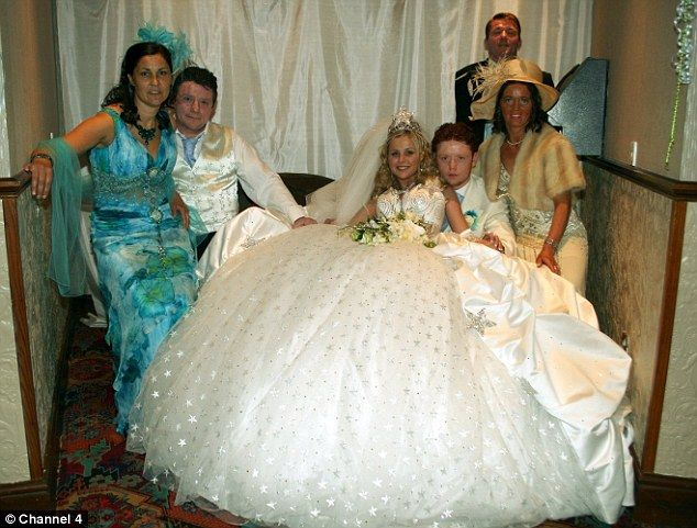 Tacky And Spectacularly OTT But Steeped In Traditional Values Channel Four Goes Behind The Scenes At Three Gypsy Weddings