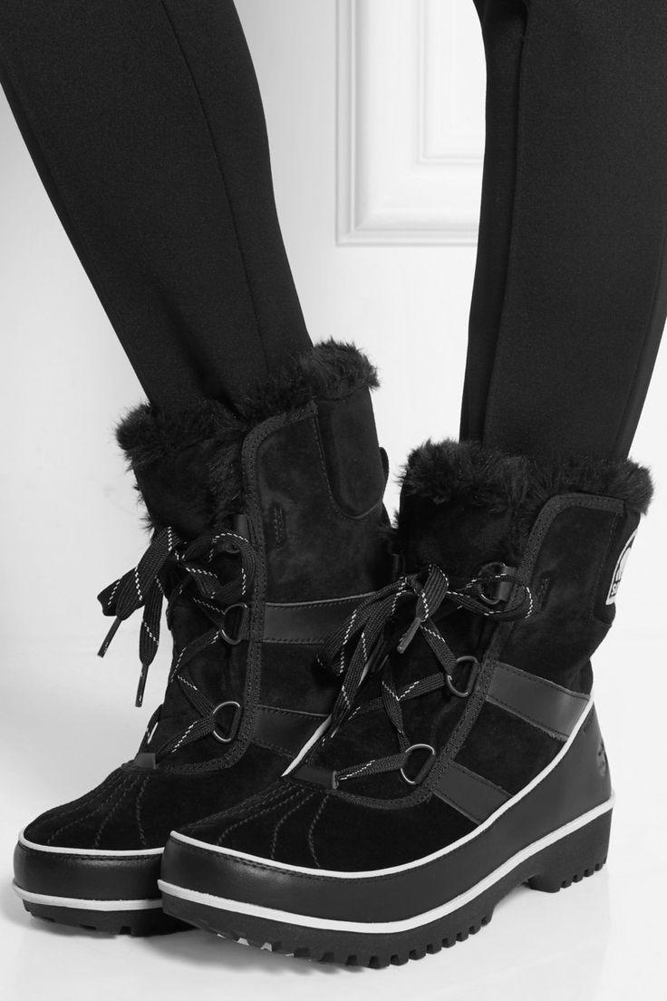 Sorel|Tivoli II waterproof suede and leather boots|NET-A-PORTER.COM