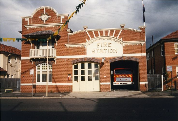 The Hurstville Fire Station building has stood at MacMahon Street, Hurstville since it was constructed for the Board of Fire Commissioners in 1912. Fire services were relocated in 1993, however, the building has been preserved as a home to a number of professional businesses. #publicmade #StGeorgeStories Image: Hurstville City Library Museum & Gallery collection
