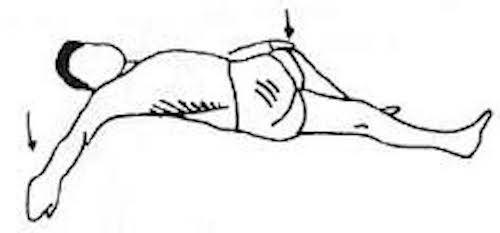 Faites des étirements de la colonne vertébrale pour soulager douleurs au dos