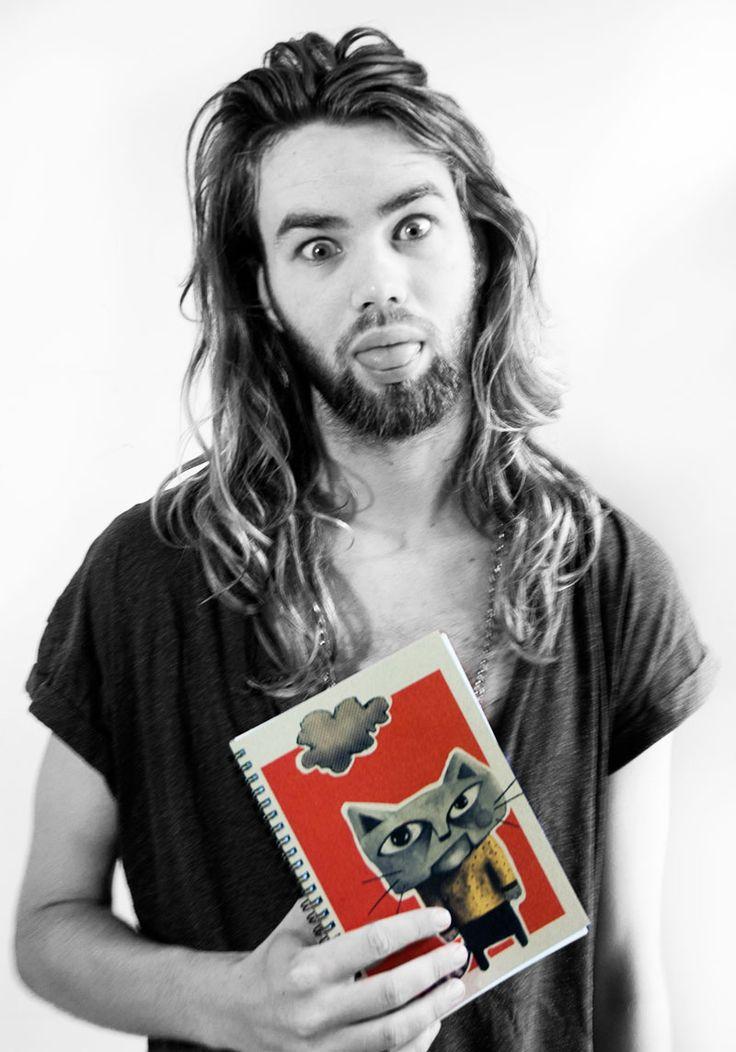 Rasmus ...:) & a Grumpy Cat notebook by Deluxe Dollz