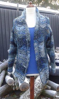 blauw vest