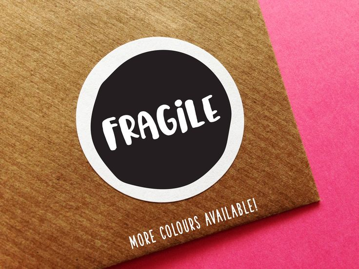 Fragile Care Labels, Fragile Stickers, Please Do Not Bend