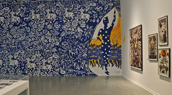Marcel Dzama en La Casa Encendida | www.StyleFeelFree.com