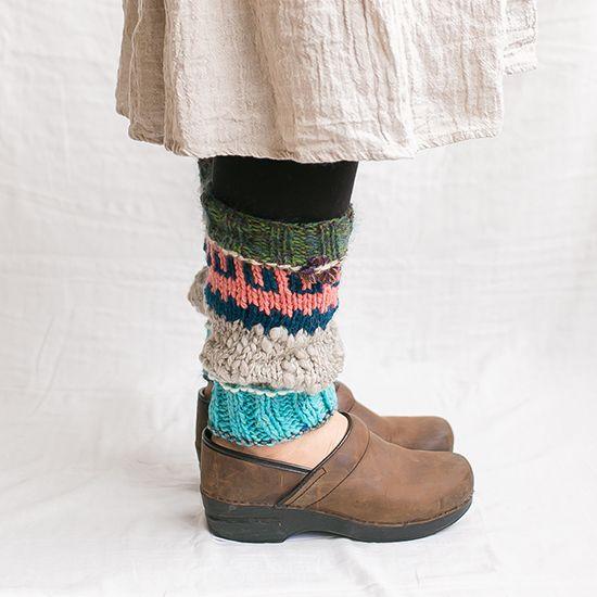 レッグウォーマー|編み物キットオンラインショップ・イトコバコ