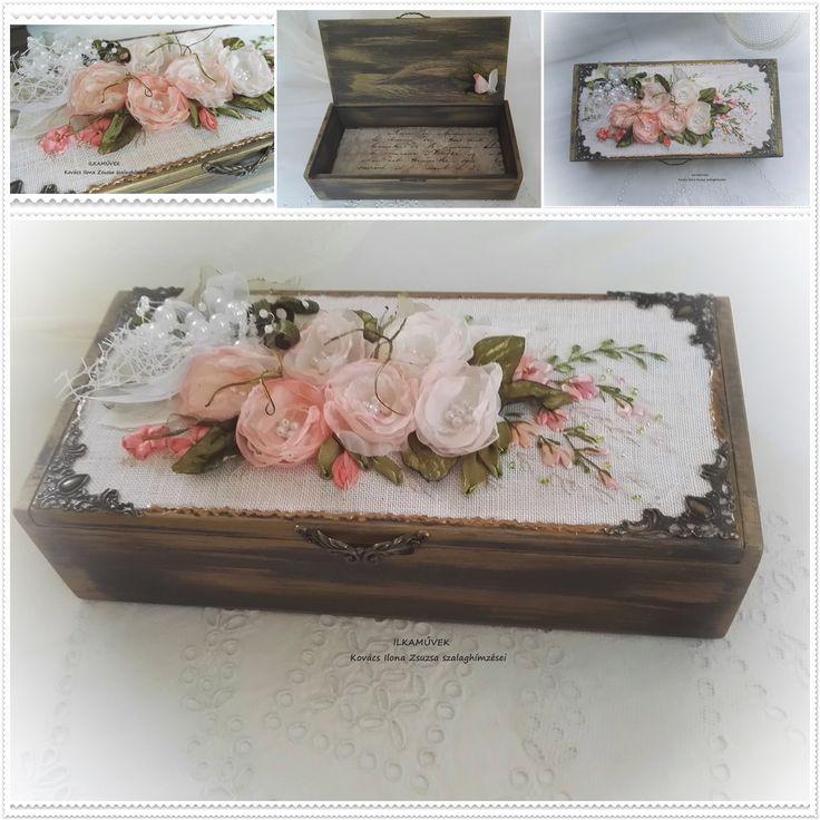 Pénzgyűjtő doboz esküvőre