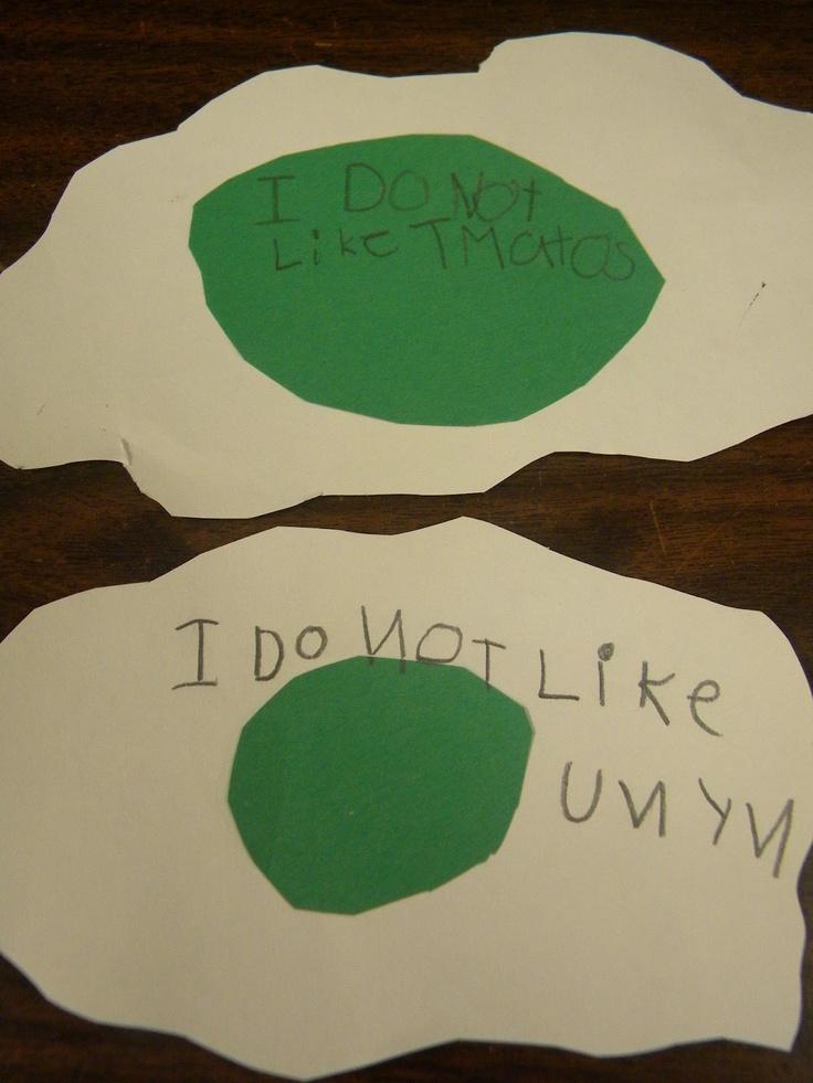 Fairy Dust Teaching Kindergarten Blog: Green Eggs and Ham Writing Project