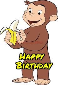 12 best curious george birthday cards images on pinterest free curious george birthday ecards bookmarktalkfo Images
