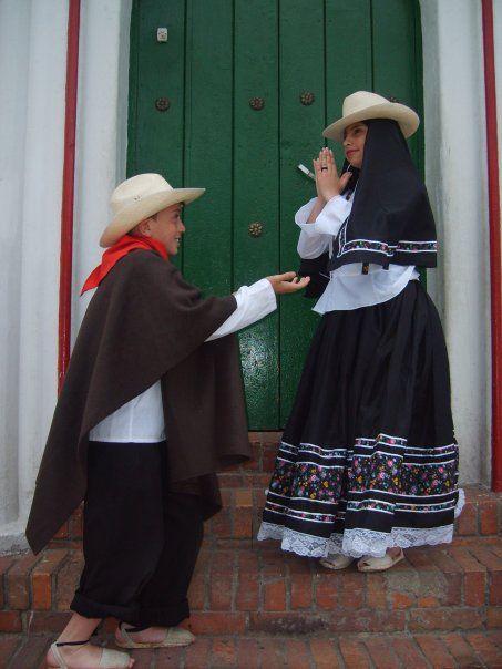 trajes tipicos boyacenses - colombia