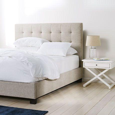 marlo queen bed in pendle oatmeal 899 bedroom