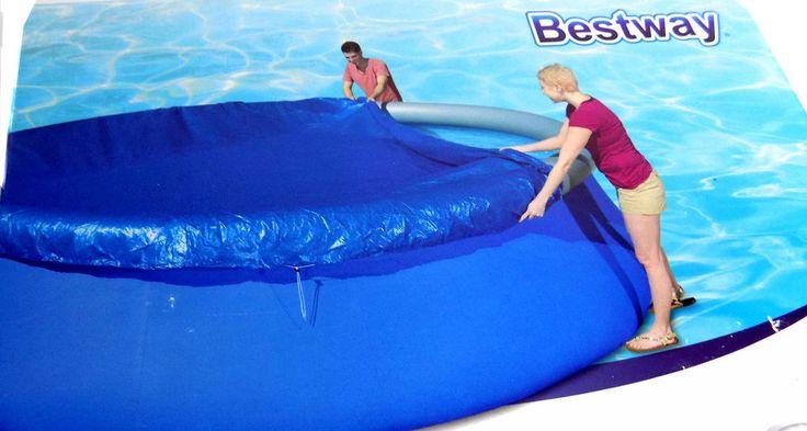 Pool - Abdeckung, Abdeckplane für Quick Up Pools Ø 366cm