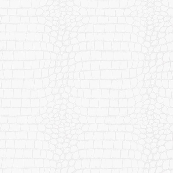 Tucker White Crocodile Wallpaper
