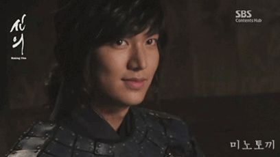 Lee Min Ho as  Choi Young in The Great Doctor/Faith 신의 ️❤️❤️