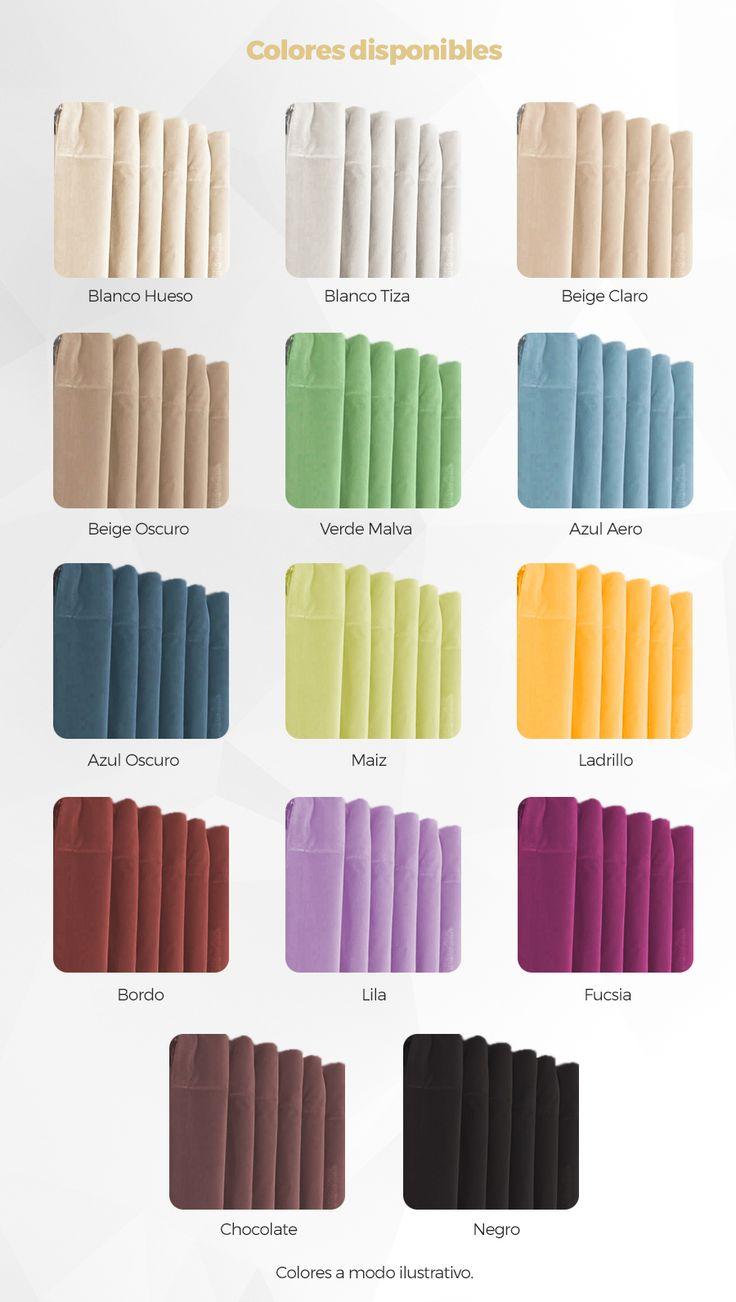 Juego De Cortinas Blackout Textil Lavable Presillas Ocultas - $ 645,00 en Mercado Libre