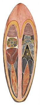 CHARLIE MARDIGAN - Australia -  Sotheby's rare 1968 bark painting