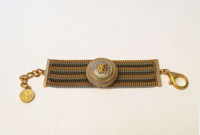 Catawiki online auction house: Versace - 'Medusa' luxury large bracelet with original case