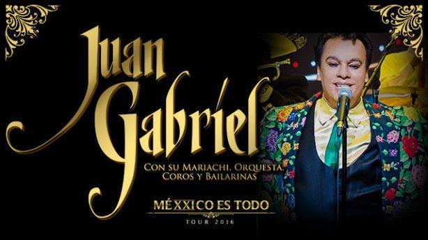 Este Viernes Juan Gabriel inaugura su nueva gira 'MeXXico Es Todo Tour 2016.'…