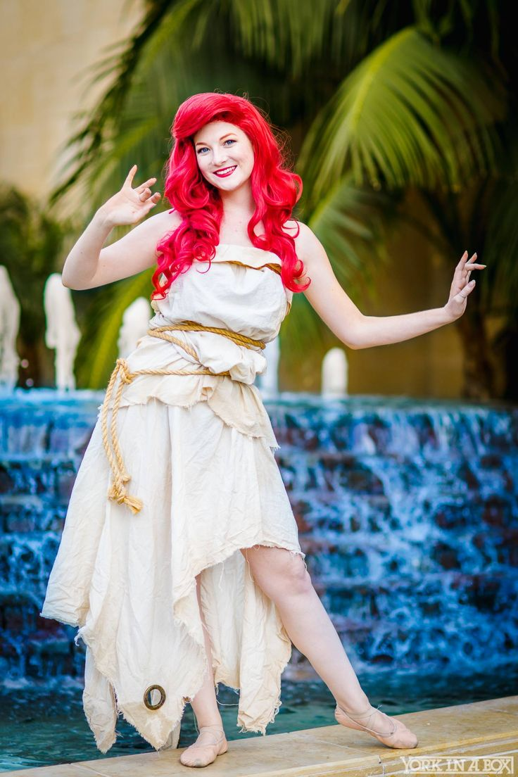 Ariel (Ashlynne Dae) from Disneyu0027s The Little Mermaid u2014 #YorkInABox #WonderCon2015  sc 1 st  Pinterest & 27 best images about MNSS Costume Ideas on Pinterest | Awesome ...