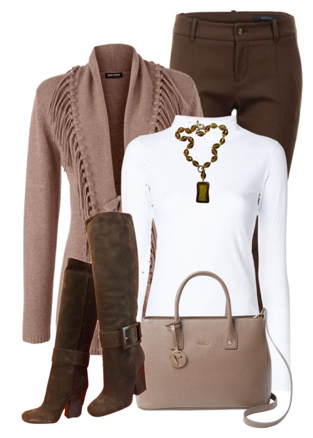 White Turtleneck Top by daiscat on Polyvore featuring rag & bone/JEAN, Gerry Weber, Gucci, Furla and Givenchy