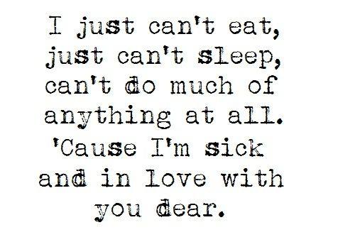 Never Shout Never- Lovesick Lyrics ;D