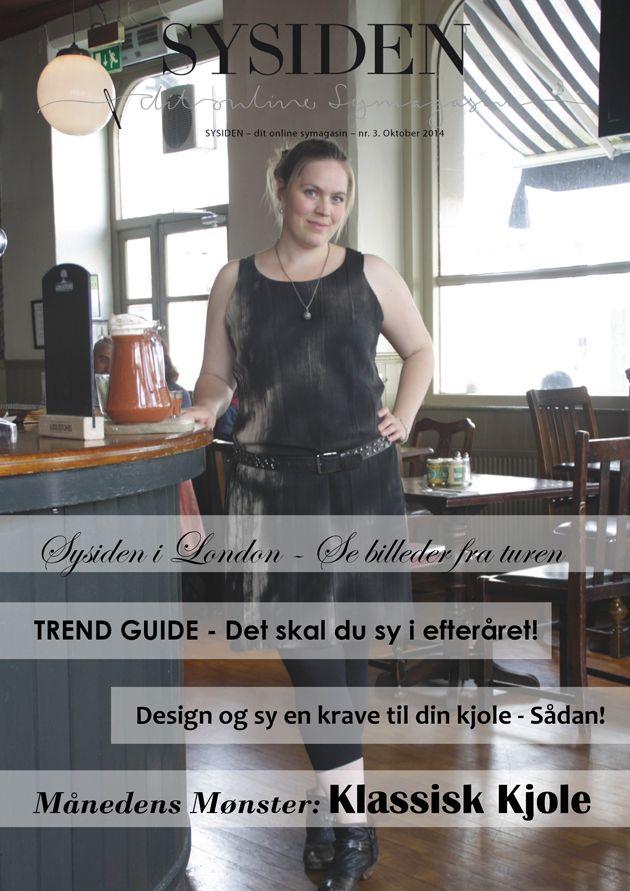 Symagasin - Sysiden er et online symagasin. Hver måned med print-selv mønster, vejledninger til designændringer, artikler om stil, syteknikker, tilretninger