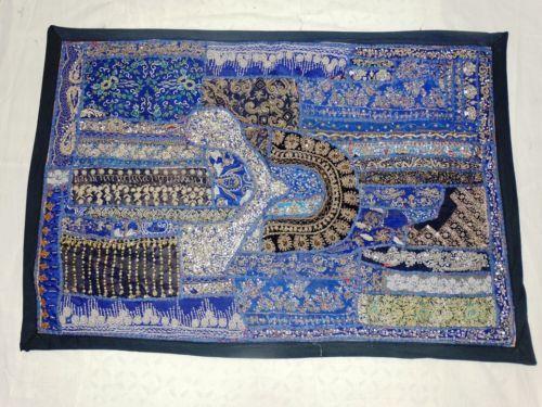 Indian-tapestry-Patchwork-Handmade-Tapestry-Handmade-gypsy-boho-Tapestry-014
