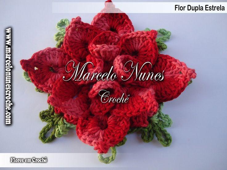 Flores em Crochê - Marcelo Nunes: Videos Croch