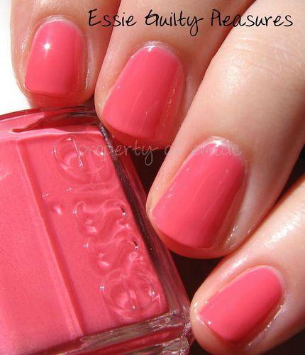Essie Guilty Pleasures, really pretty nail color.