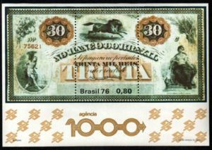 Thousandth agency of the Bank of Brazil
