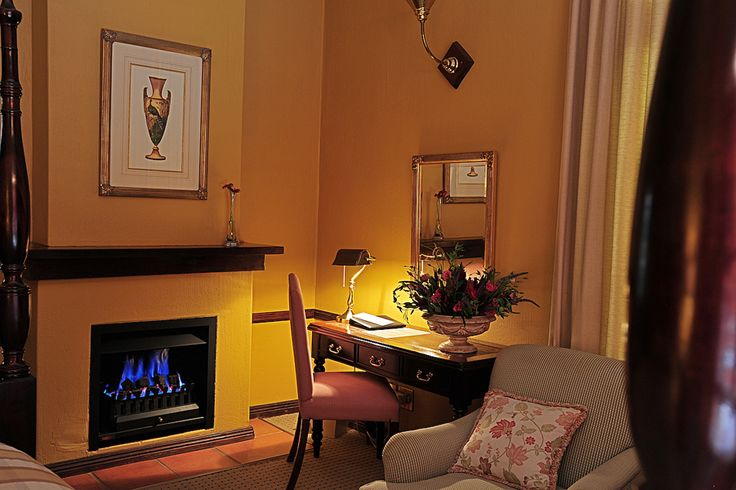 Fireplace Rooms for those chilly nights....
