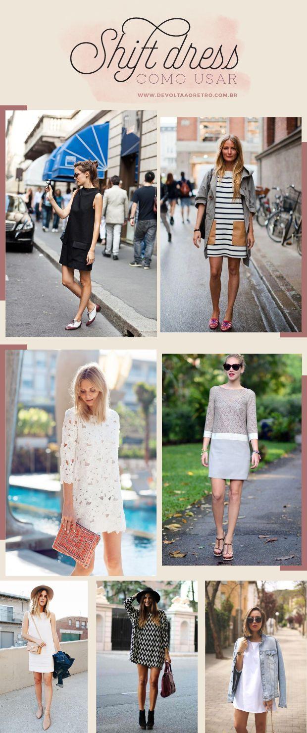 Moda retrô: Shift dress como usar e onde comprar