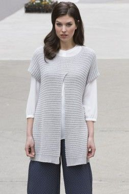 Stacy Charles Julie Carnegie Hill Tunic Knitting Pattern PDF